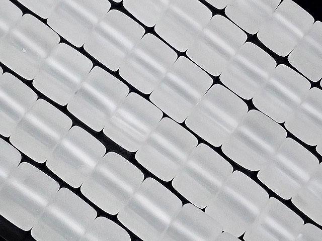 天然石【連販売】フロストクォーツ キューブ 6mm【1連 1,400円】ビーズとパワーストーン