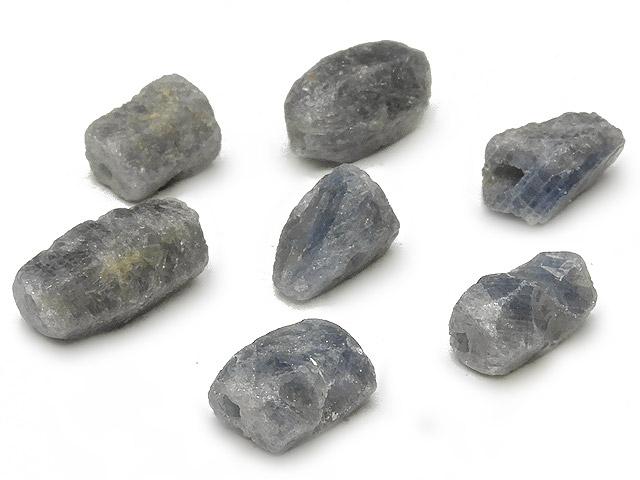 天然石【粒販売】サファイア ラフロック 8〜13mm【5粒販売 500円】ビーズとパワーストーン