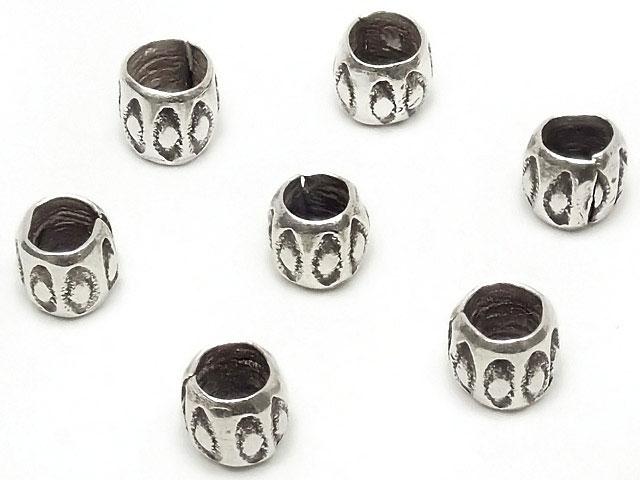 ビーズ天然石カレンシルバー デザインロンデル 3mm【10コ販売 400円】とパワーストーン