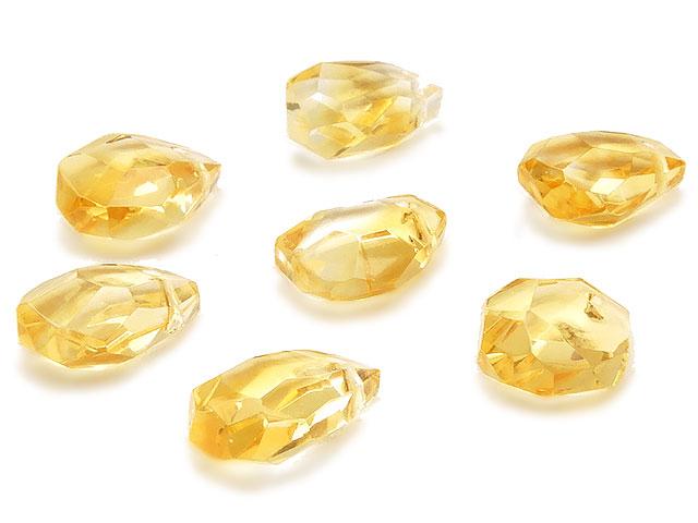 天然石【粒販売】シトリン ナゲットカット 11〜13mm【5粒販売 500円】ビーズとパワーストーン