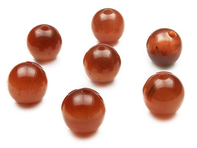 ビーズ天然石【粒販売】オレンジタイガーアイ 丸玉 9mm【5粒販売 600円】とパワーストーン
