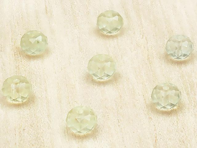 天然石【粒販売】プレナイト ボタンカット 5×3mm[プレミアムカット]【15粒販売 450円】ビーズとパワーストーン