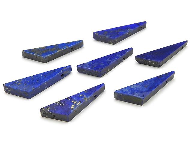 天然石ビーズ【粒販売】ラピスラズリ フラットトライアングル 18〜20mm【2粒販売 600円】とパワーストーン