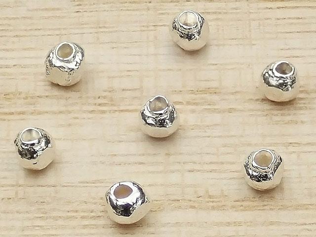 ビーズ天然石カレンシルバー トライアングル ビーズ 3mm【10コ販売 280円】とパワーストーン