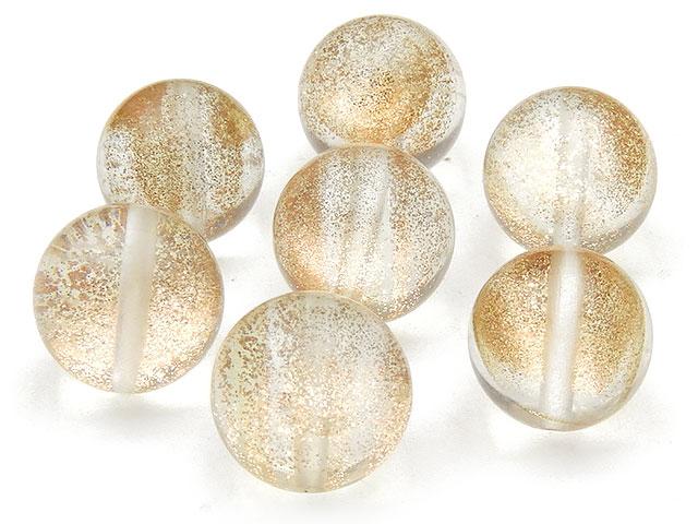 天然石【粒販売】スターダストクリスタル 丸玉 12mm【7粒販売 490円】ビーズとパワーストーン