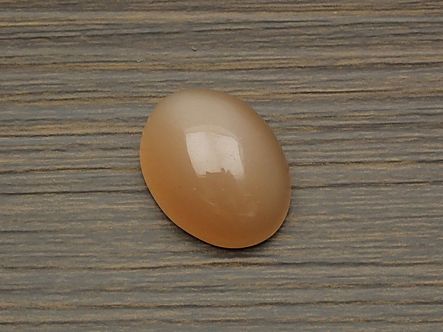 天然石ピーチムーンストーン カボション No.4【1点もの 2,800円】ビーズとパワーストーン