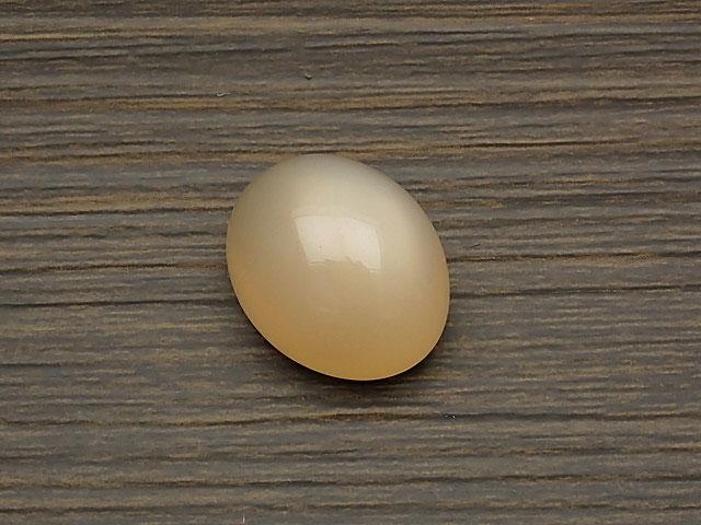 天然石ピーチムーンストーン カボション No.6【1点もの 2,600円】ビーズとパワーストーン