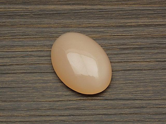 天然石ピーチムーンストーン カボション No.8【1点もの 2,400円】ビーズとパワーストーン