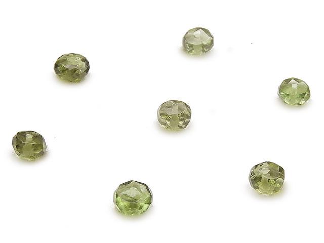天然石【粒販売】チェコ産 モルダバイト ボタンカット 4mm【5粒販売 1,200円】ビーズとパワーストーン
