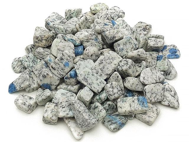 天然石K2アズライト チップ(さざれ) 穴なし【100g 500円〜】ビーズとパワーストーン