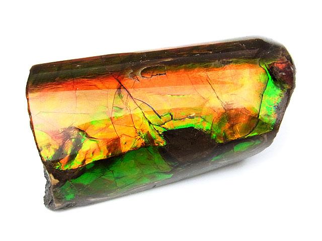 天然石カナダ産 アンモライト 原石 No.3【1点もの 59,800円】ビーズとパワーストーン