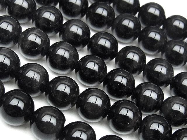 ビーズ天然石【連販売】ブラックタイガーアイ 丸玉 8mm【半連 880円〜】とパワーストーン