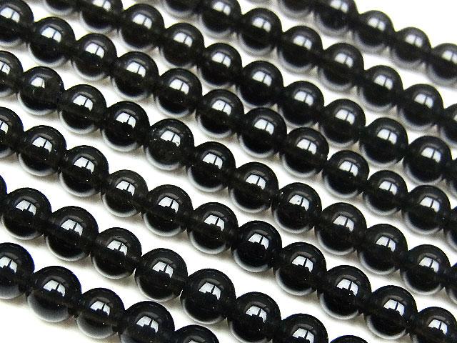 天然石【連販売】テクタイト 丸玉 4mm【半連 1,210円〜】ビーズとパワーストーン