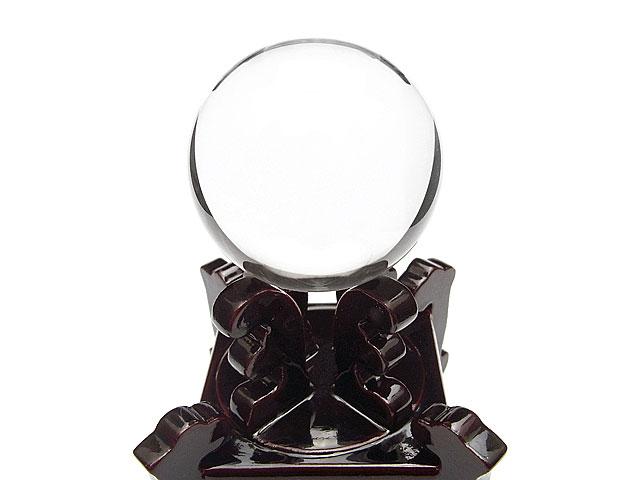 天然石【鑑別書付き】天然水晶 クリスタルクォーツ スフィア 59mm【1点もの 468,000円】ビーズとパワーストーン